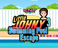 Knf Little Johny 3 Swimming Pool Escape Walkthrough