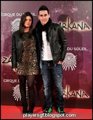 José María Callejón and his hot girlfriend