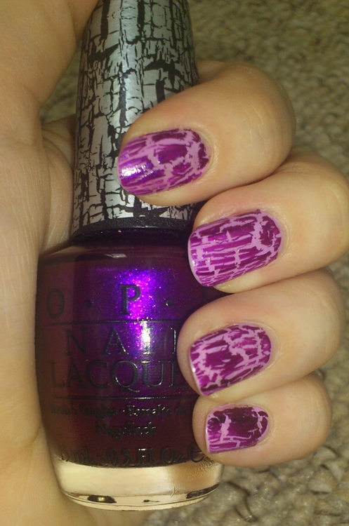 Silver Screen Beauty Queen Opi Super Bass Shatter Nicki Minaj Collection