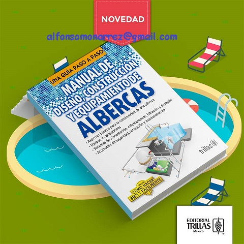 Libros trillas manual de dise o construccion y for Manual de diseno y construccion de albercas pdf