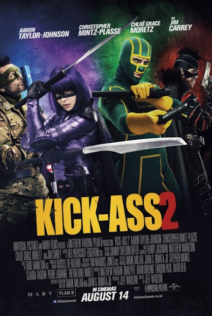 Kick Ass 2 2013 Hindi Dual Audio 720P BRRip 950MB, Kick ass 2 the movie 2013 hindi dubbed free download original blu ray brrip 720p in 700mb or watch online full movie in hindi at https://world4ufree.ws