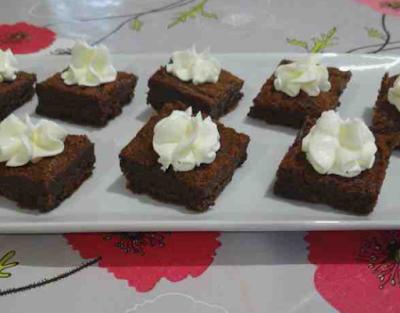 bouchées au chocolat crème mascarpone gâteau pâtisserie
