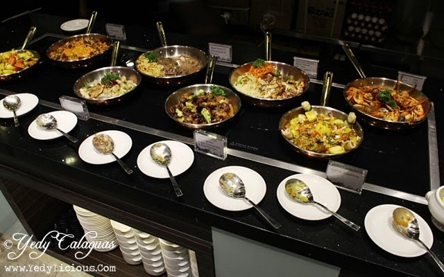 Different Dishes at Vikings Buffet SM Megamall