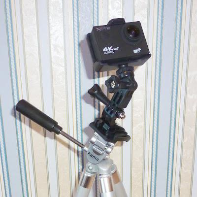 Крепление камеры XiPro на штатив