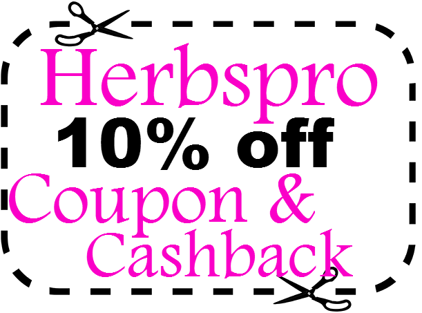 Herbspro Promo Code 10% off 2016-2017, Herbspro Coupon Code September, October, November