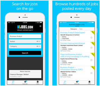 NIJobs's Mobile Job Search App | Mobile Job Search Apps