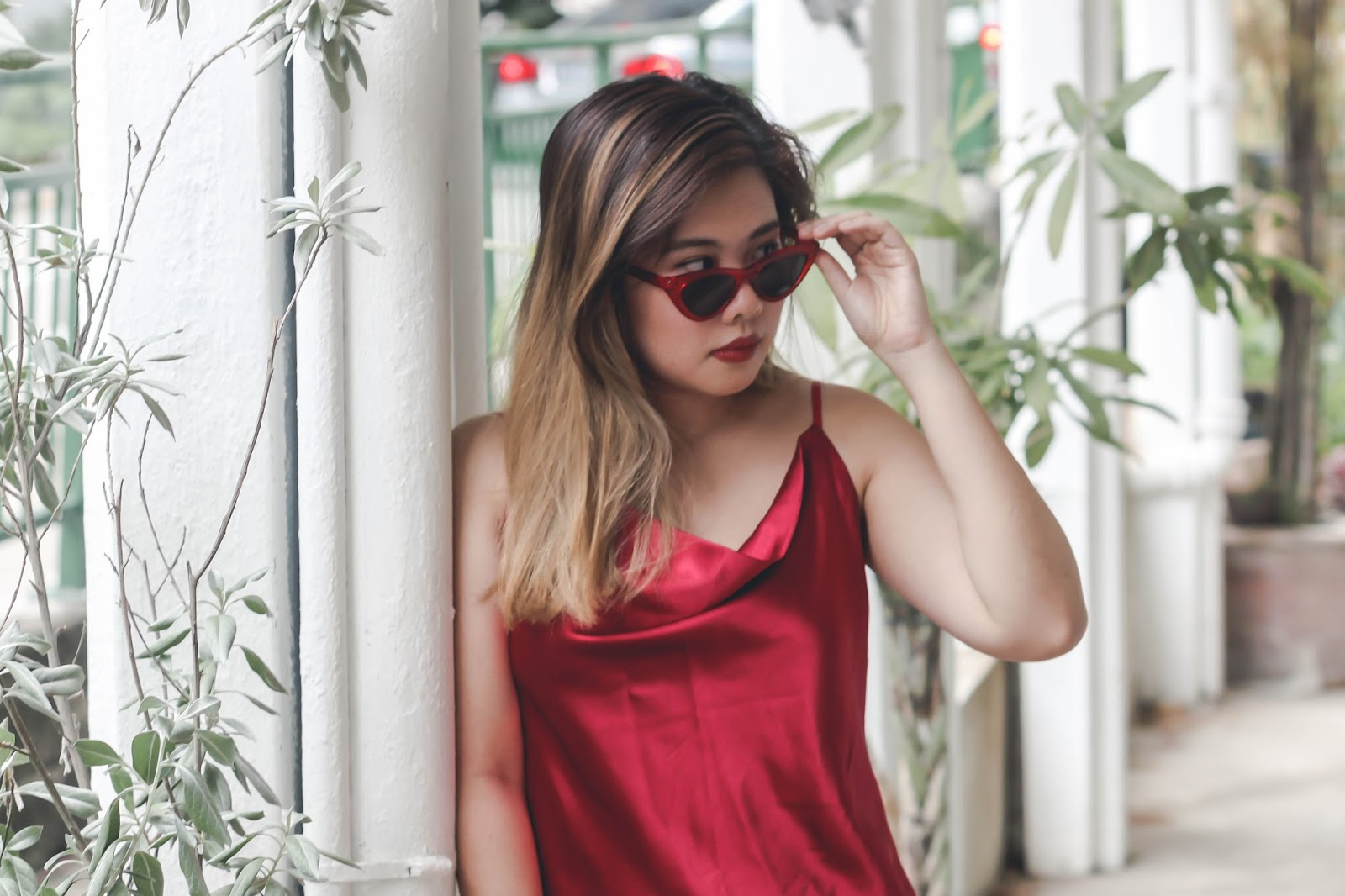 singapore blogger stylist fashion style street ootd red how to style valentines day 2018 chinese lunar new year photography outfit look book