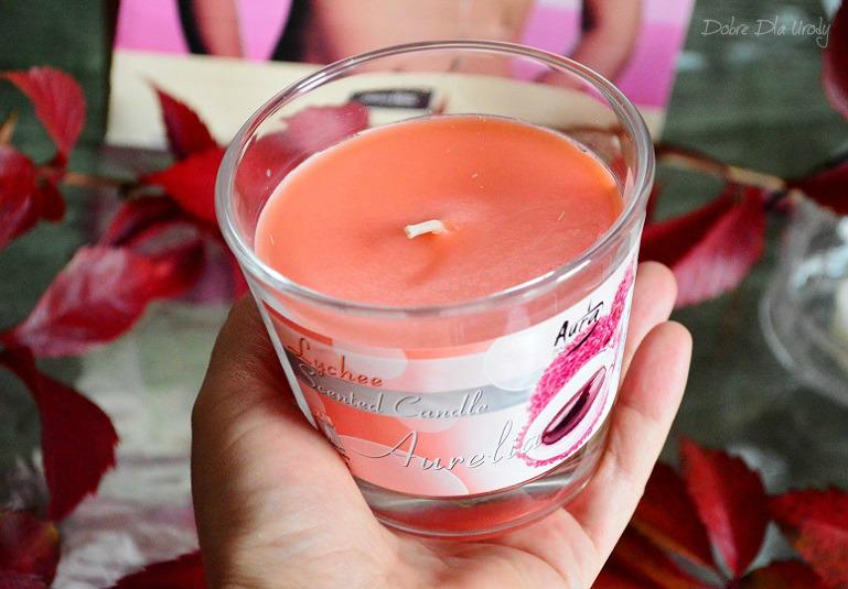 ShinyBox THINK PINK - BISPOL Świeca zapachowa w szkle