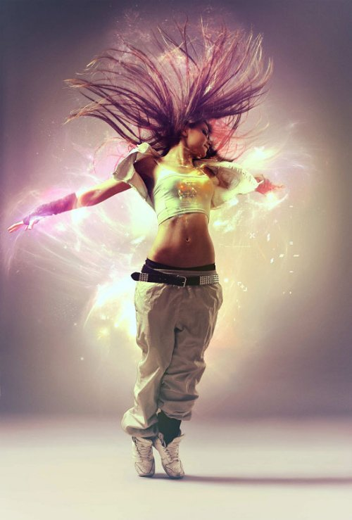 Pure an Energetic Photomanipulation