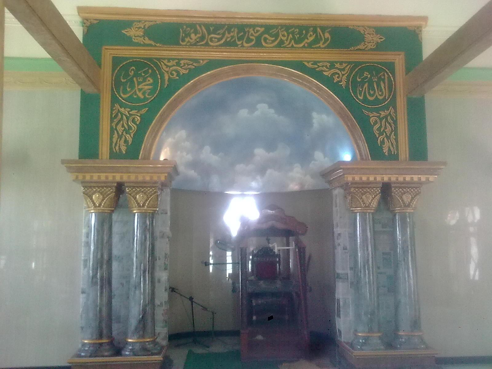 Jasa Tukang taman lamongan Gambar pilar masjid Wash