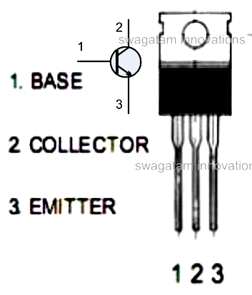 transistor wire diagram transistor pin diagram homemade circuit projects