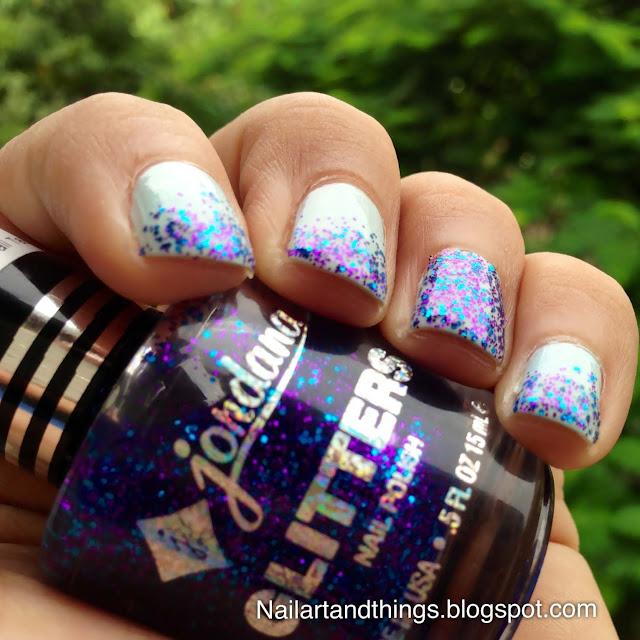 NailArt And Things: Glitter Gradient Nails