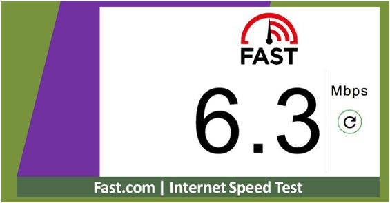 cek kecepatan internet online
