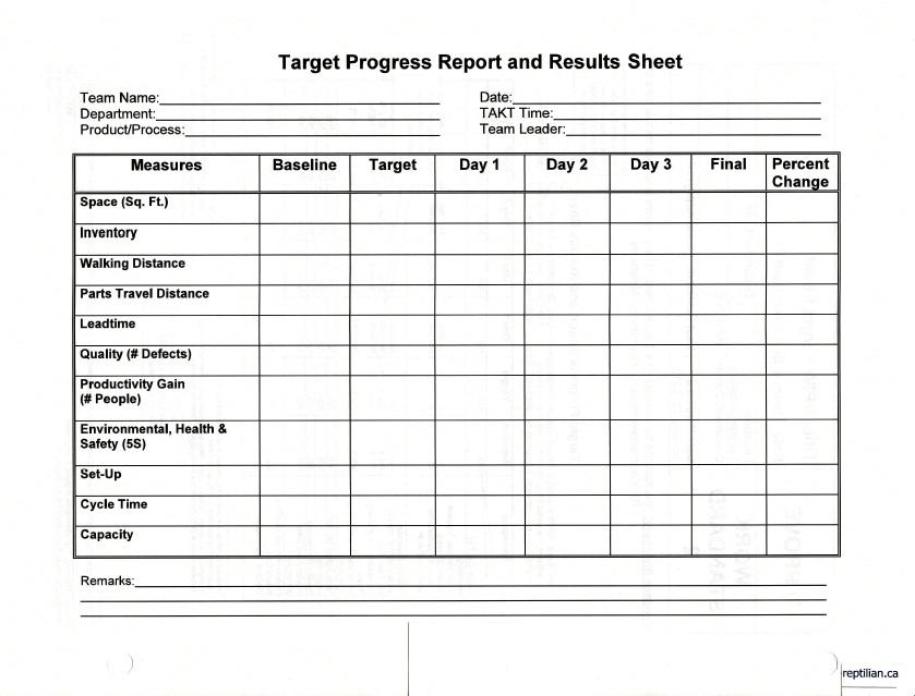 Book report summary sheet