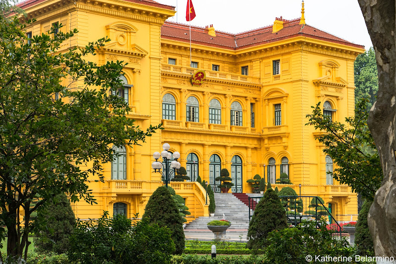 Ho Chi Minh Presidential Palace Things to Do in Hanoi Vietnam