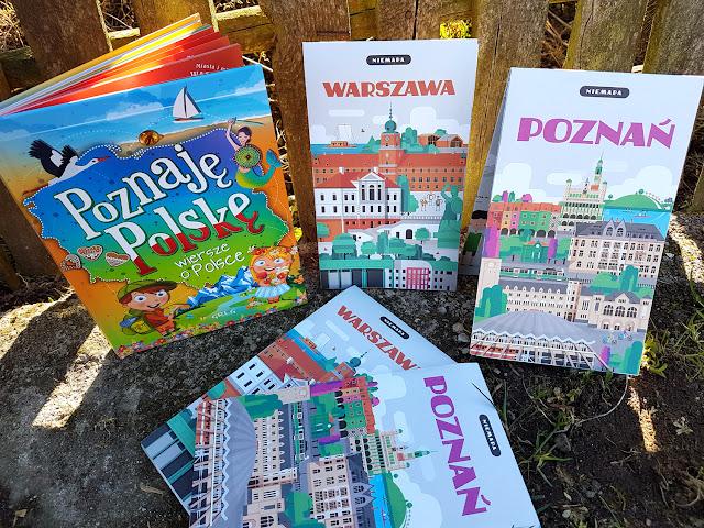 NIEMAPA Poznań Warszawa- Poznajemy Polskę - Wydawnictwo Greg - książeczki dla dzieci - mapy dla dzieci - podróże po Polsce - podróże z dzieckiem - parenting - blog parentingowy - przewodnik turystyczny dla dzieci