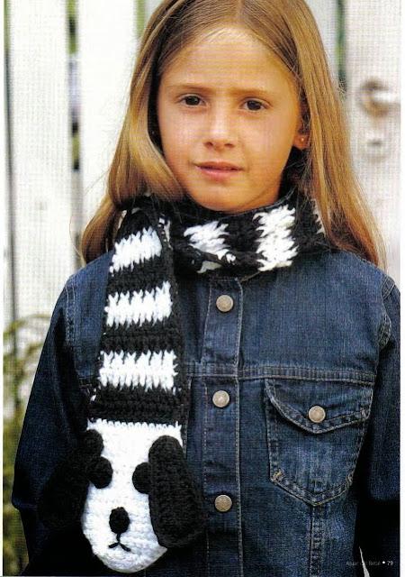 Bufanda Perrito a Crochet
