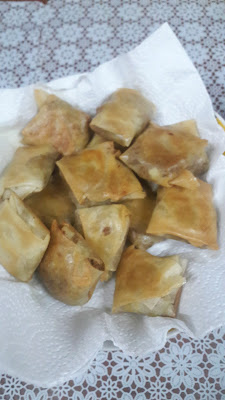 Hungry? faster samosa homemade?!