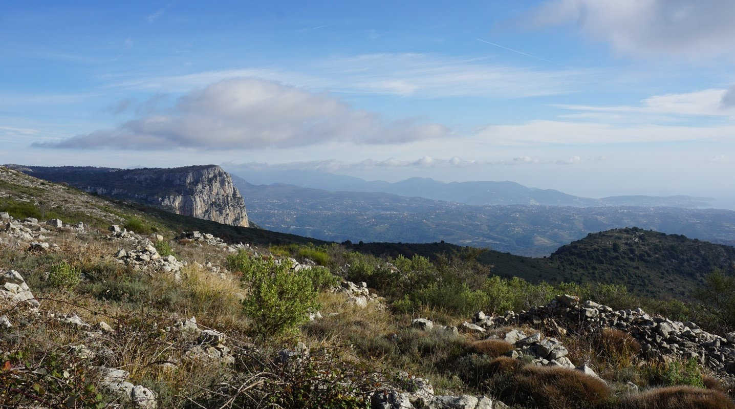View to east from les Blaquiéres