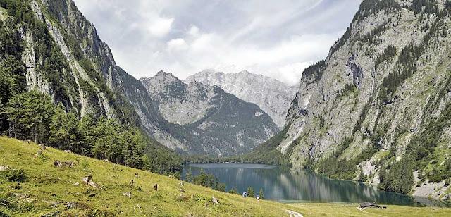 Der Obersee bei Schönau - Lake Obersee Near Schoenau