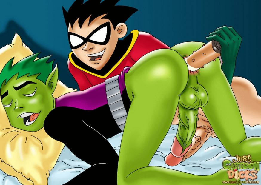 Gay Cartoon Porn Young Justice-2264