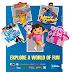 Explore a world of fun