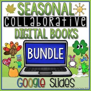 Seasonal/Holiday activities in Google Slides: Create collaborative digital books
