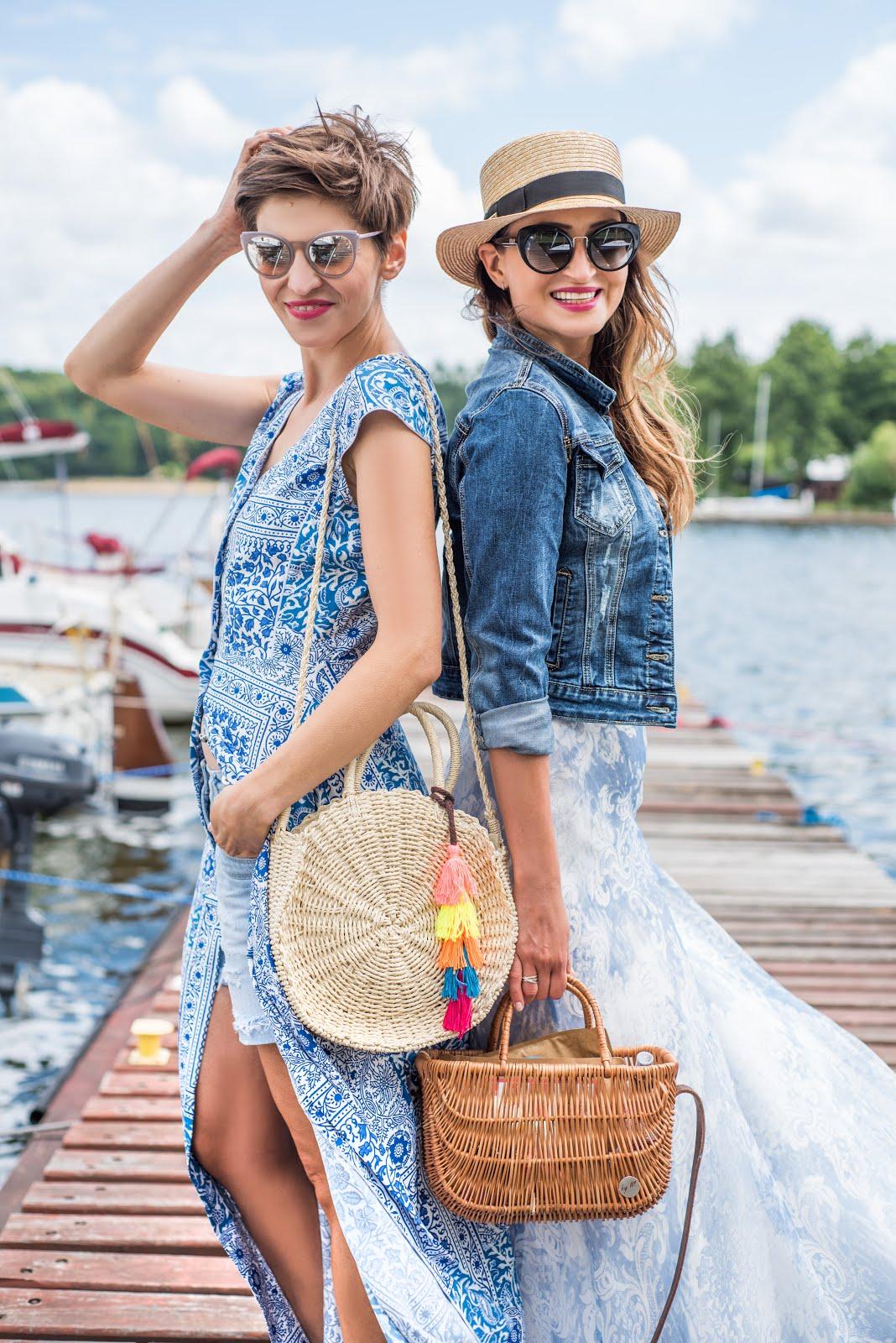 Summer style wg Novamoda * wakacyjne piękne suknie maksi w yaht clubie