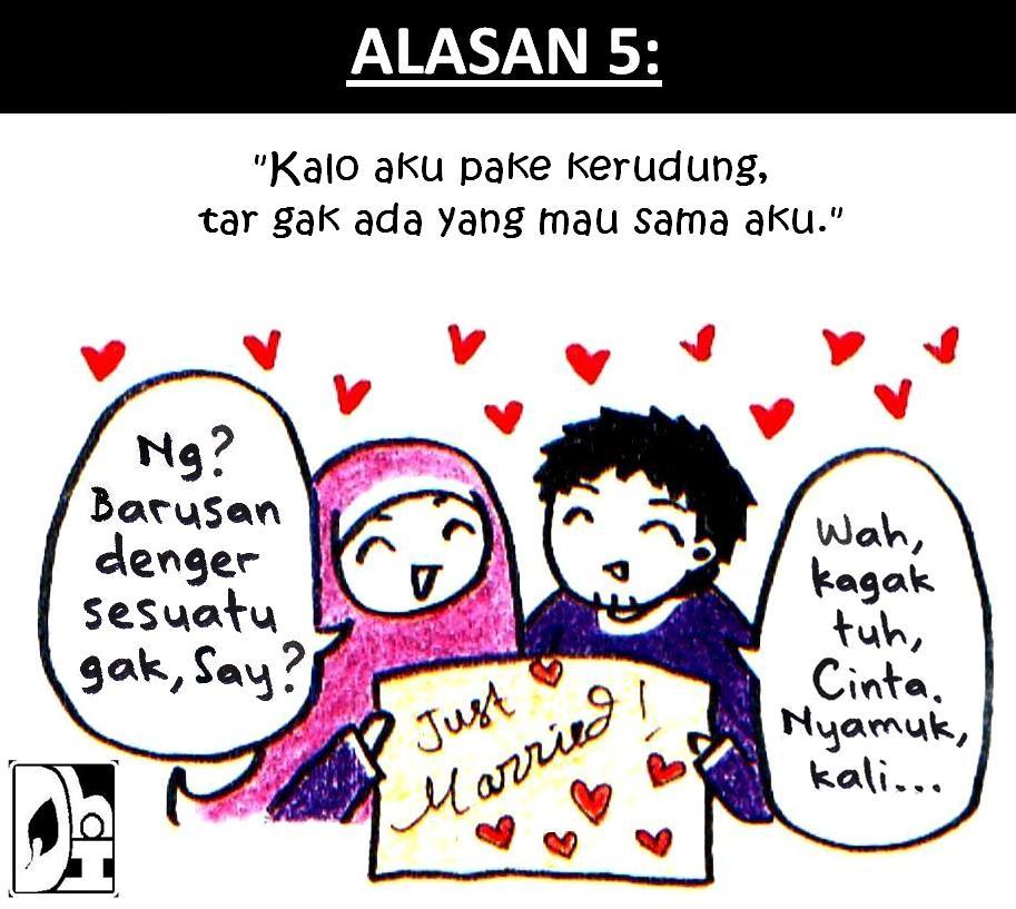 Komik Muslimah Juni 2012