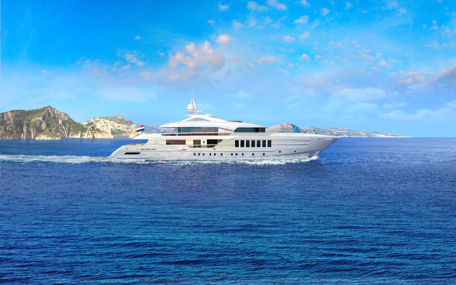 Megayacht Global: Heesen Yachts Sell New 55m