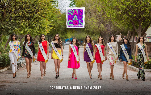 candidatas feria san marcos 2017