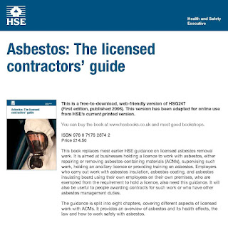 Addition To The Control of Asbestos Regulations 2006 Proposed By HSE