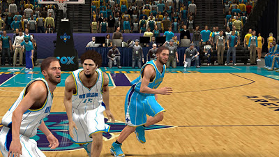 NBA 2K13 New Orleans Hornets Jersey Patch