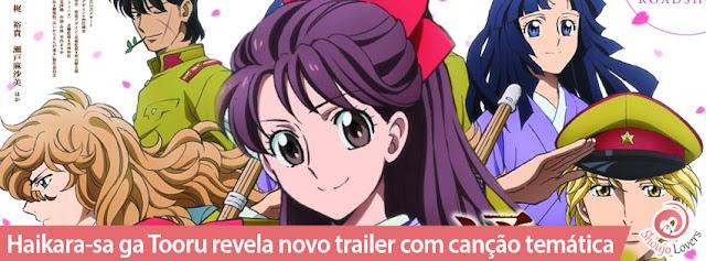 Haikara-sa ga Tooru revela novo trailer com canção temática