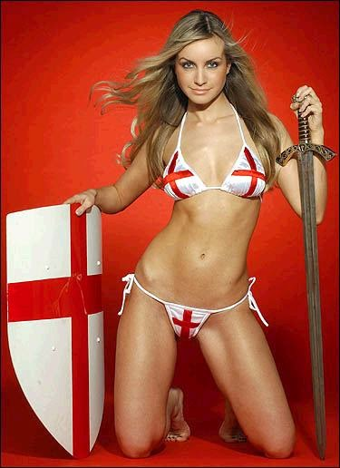 World Cup Brazil 2014: sexy hot girls football fan, beautiful woman supporter of the world. Pretty amateur girls, pics and photos   England Inglaterra inglesas
