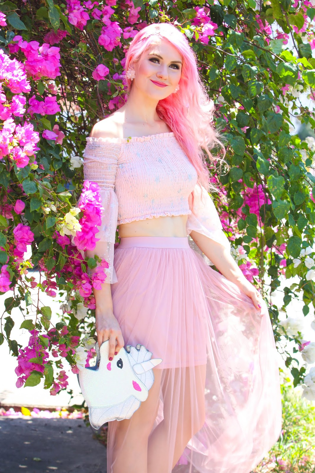 Fairy Tulle Top Skirt outfit