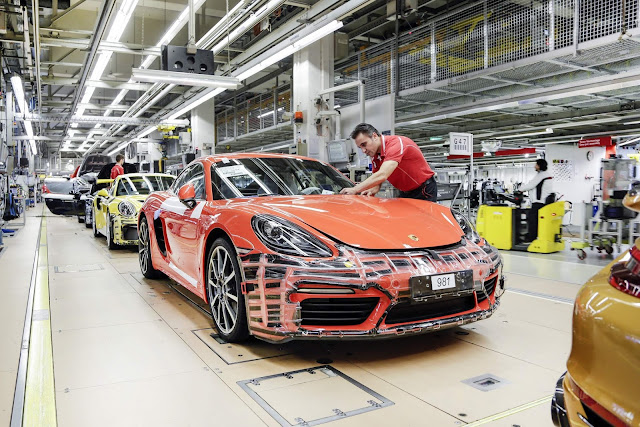 Porsche distribui bônus de R$ 41 mil para os funcionários