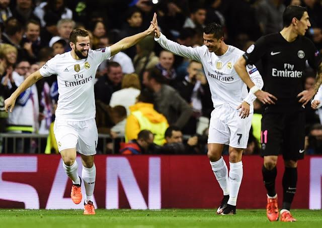 Cristiano Ronaldo e Nacho