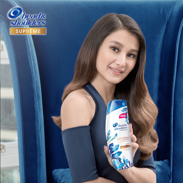 Chie Filomeno on Head and Shoulders