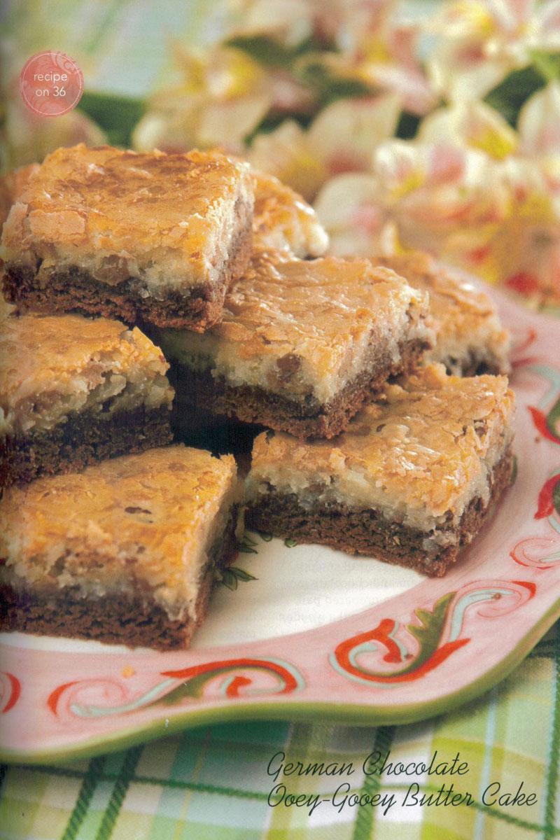 Piggy Wiggy Recipes German Chocolate Ooey Gooey Butter Cake