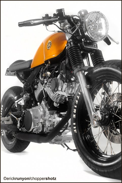 Racing Caf 232 Yamaha Virago 750 By Doc S Chops