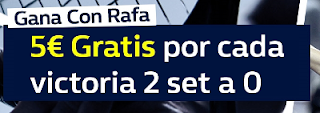 william hill promocion Rafa Nadal Copa de Maestros 2017