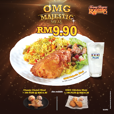 KRR OMG Majestic Meal Discount Offer Promo