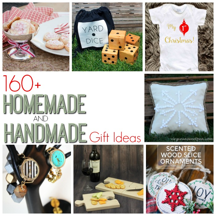 Over 160 Homemade and Handmade Gift Ideas