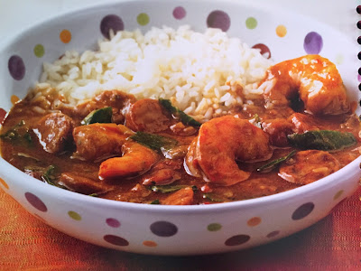 Jerk Shrimp & Sausage Gumbo