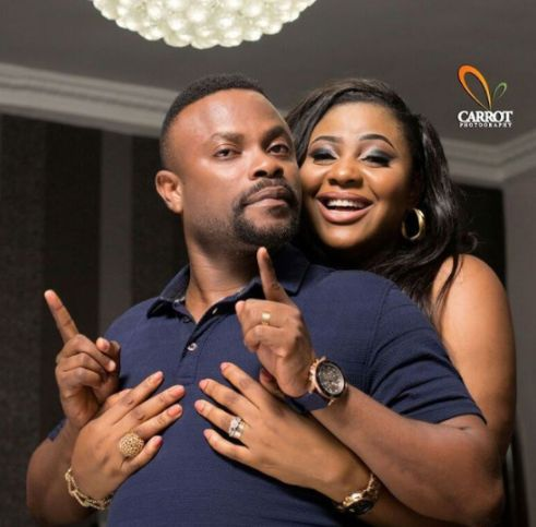 Actor Imeh Bishop and Wife Celebrate 4th Wedding Anniversary