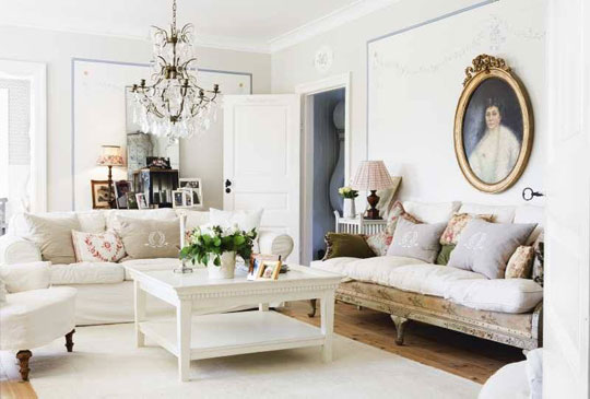 white living room interior style modern kits furniture | modern swedish antique furniture carl malmsten clean ...