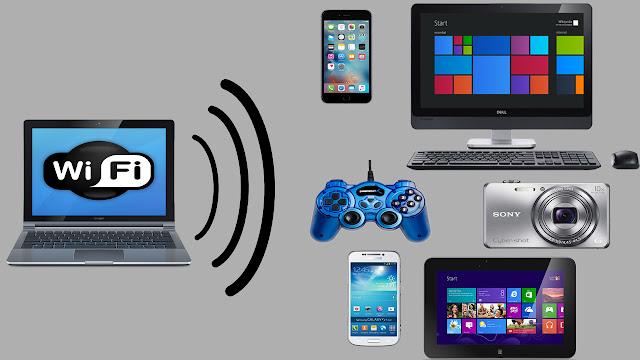 مشاركة أنترنت الكمبيوتر مع هاتفك أو حاسوب أخر بدون إستعمال كابل