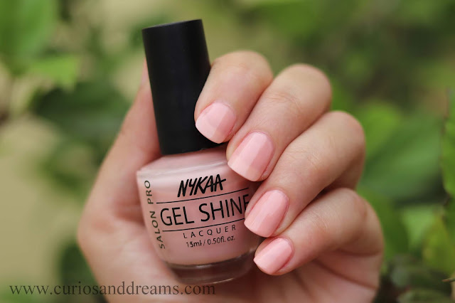 Nykaa nail polish, Nykaa gel nail polish, review, swatch, san fran mood