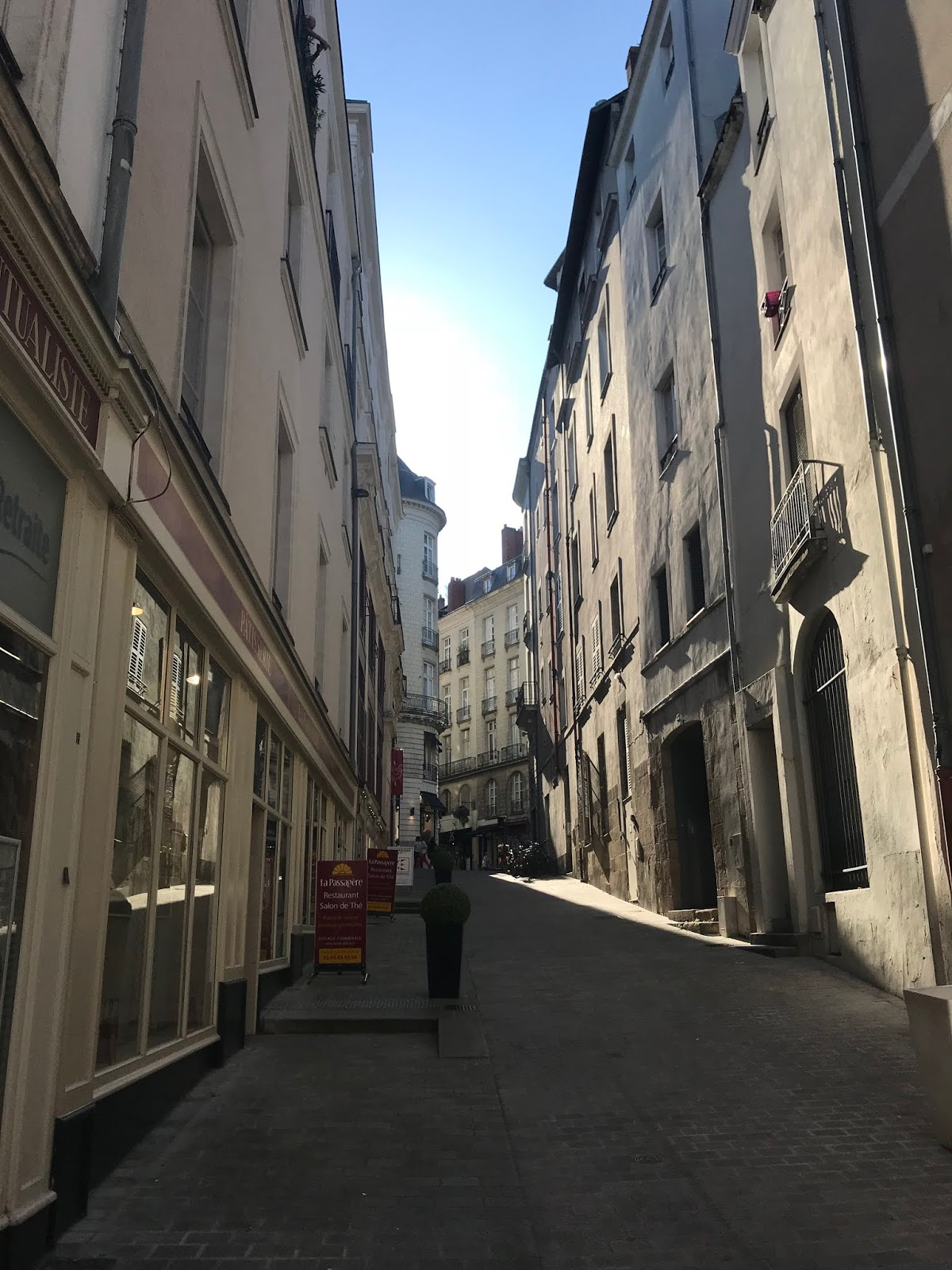 séjour à Nantes